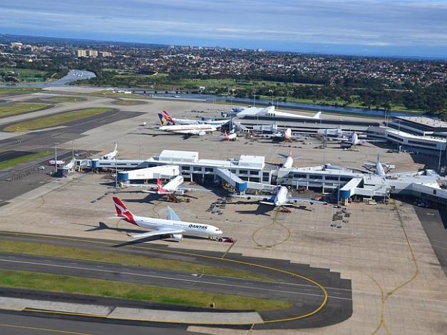 Sydney airport came in worst for service. Picture: Source: Flickr
