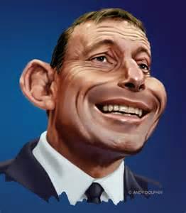 Tony Abbott Cartoon by Andrew Dolphin
