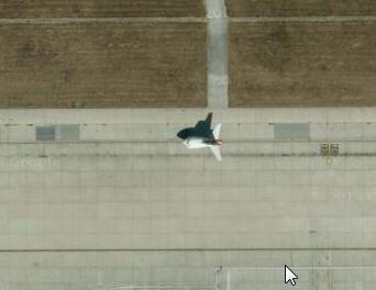 Strange aircraft at Heathrow