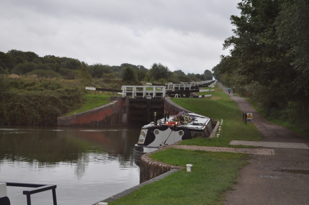 Caen Hill Locks - Devizes Wiltshire, UK