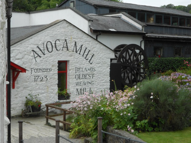 Avoca Weaving Mill. Weaving has been carriedout here since 1723.