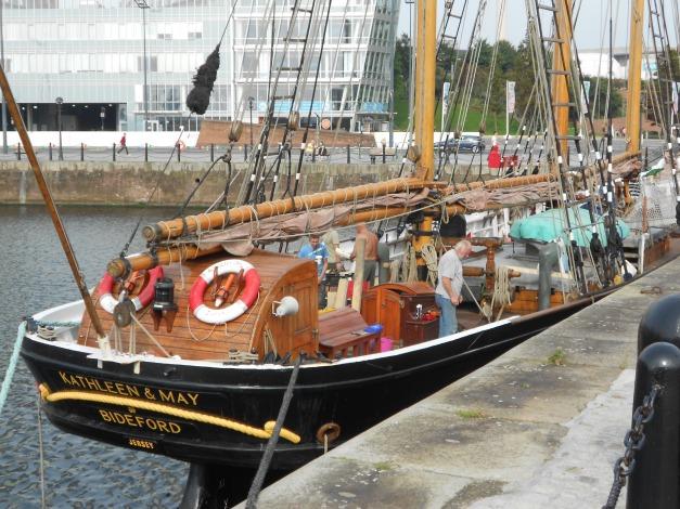 Kathleen & May in Albert Dock