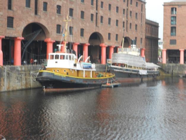 Mersey tug boats in Albert Dock