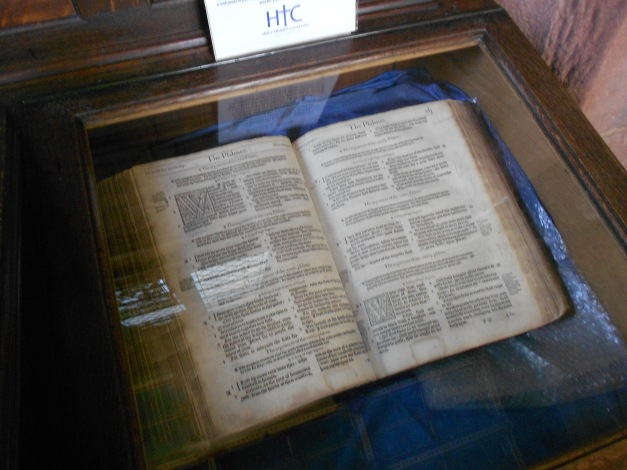 A bible from the 15th century