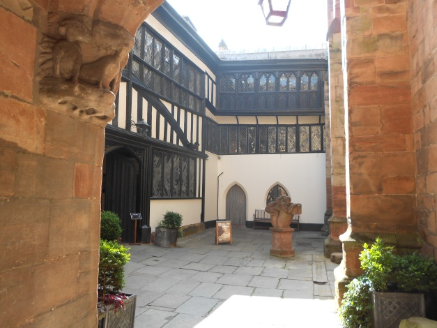 The Coventry Guildhall circa 1340