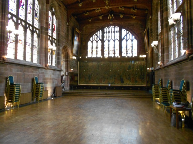 Inside the Guildhall circa 1340
