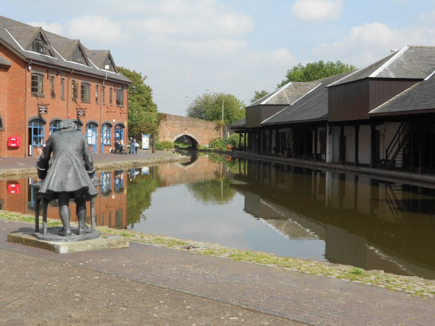 Begining ofthe Coventry Canal