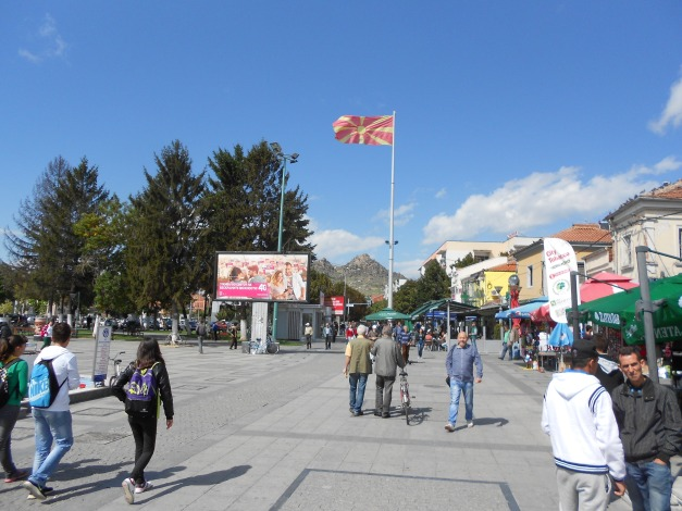 Prilep Town Square