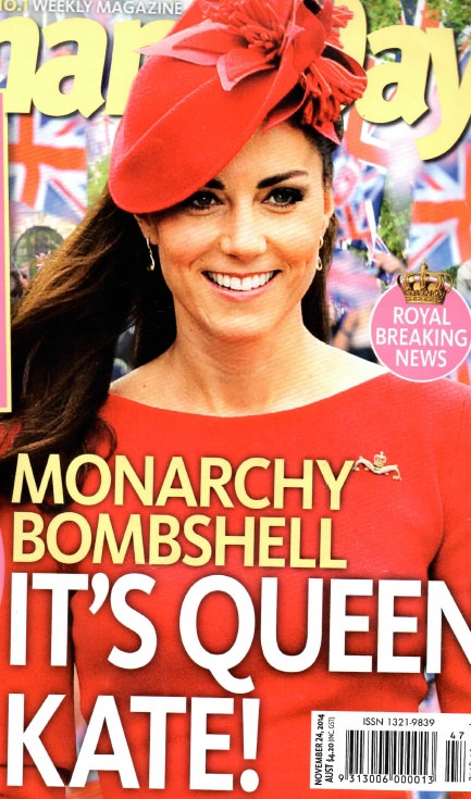 Monarchy Bombshell - It's Queen Kate