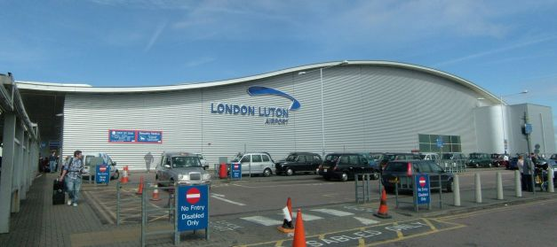 London-Luton Airport Photo: Wikipedia