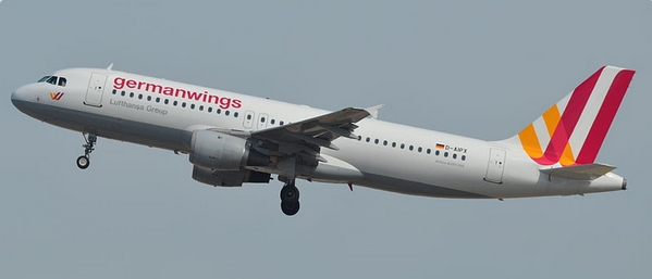 D-AIPX, the Airbus A320-200 involved in the accident. Image by Sebastien Mortier via Wiki Creative Commons.