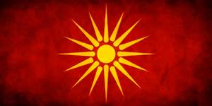 Original flag of the Macedonian Reopublic