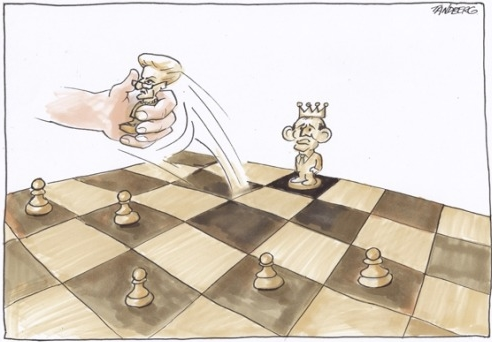 Chess by Ron Tandberg