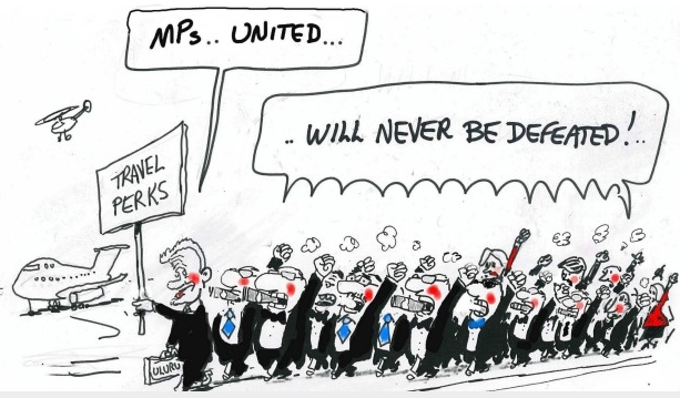 United - Cartoon by Alan Moir