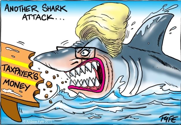 Cartoon by Andrew Fyfe