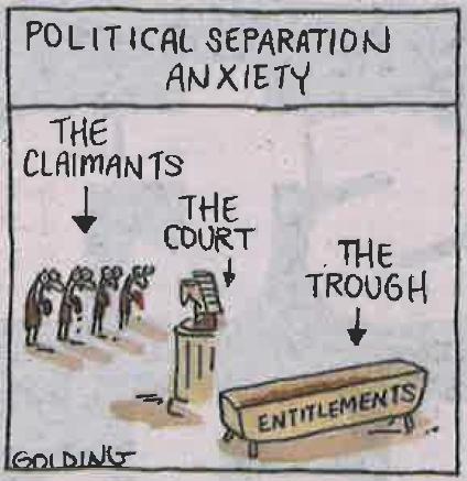 The Trough - Cartoon by Golding SMH 9/08/2015